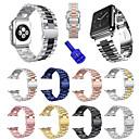 hesapli Smartwatch Bantları-Watch Band için Apple Watch Series 4/3/2/1 Apple Spor Bantları Paslanmaz Çelik Bilek Askısı