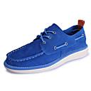 baratos Sapatos Náuticos Masculinos-Homens Sapatos Confortáveis Camurça Primavera / Outono Casual Sapatos de Barco Azul Escuro / Azul Real