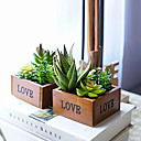 cheap Umbrella/Sun Umbrella-Artificial Flowers 1 Branch Classic / Single Rustic Succulent plants Tabletop Flower