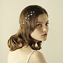 billige Sykkeljerseys-Imitert Perle pannebånd med Krystall / Rhinestone 1 Deler Bryllup / Fest / aften Hodeplagg