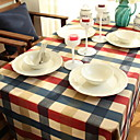 cheap Table Cloths-Contemporary 100g / m2 Polyester Knit Stretch / Nonwoven Square Table Cloth Geometric Table Decorations 1 pcs