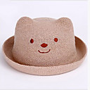 cheap Kids' Accessories-Toddler Unisex Daily Solid Colored Hats & Caps White / Beige One-Size
