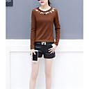 billige Anime Cosplay Tilbehør-T-skjorte for kvinner - geometrisk rund hals