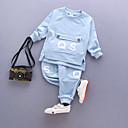 ieftine Baby Boys' One-Piece-Bebelus Băieți Casual / De Bază Zilnic / Școală Câine Imprimeu Imprimeu Manșon Lung Regular Regular Bumbac Set Îmbrăcăminte Mov 100 / Copil