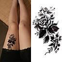 billige Verktøy og tilbehør-3 pcs Tatoveringsklistremerker midlertidige Tatoveringer Blomster Serier / Romantisk serie Økovennlig / Nytt Design kropps~~POS=TRUNC Krop / arm / Bryst / Decal-stil midlertidige tatoveringer