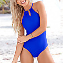 cheap Wetsuits, Diving Suits & Rash Guard Shirts-Women's One Piece Swimsuit Fast Dry, Stretchy Polyester / Spandex Sleeveless Swimwear Beach Wear Bodysuit Reactive Print Swimming