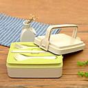 cheap Dinnerware-1 pc Wheat Straw / PP Heatproof Lunch Box, Dinnerware