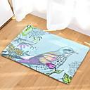 preiswerte Sportuhr-Fußmatten Modern Baumwollflanell, Rechteckig Gehobene Qualität Teppich
