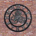 """levne Nástěnné hodiny-Moderní soudobé tradiční Dřevěný Kulatý Indoor / Outdoor Vevnitř Outdoor 24"""" x 24"""" (60cm x 60cm) 32"""" x 32"""" (80 x 80cm) 28""""x 28"""""""
