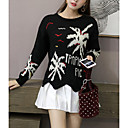 cheap Wedding Shoes-Women's Long Sleeve Pullover - Color Block