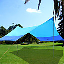cheap Tents, Canopies & Shelters-BSwolf 5 person  Outdoor Canopy Tent Windproof Rain-Proof Breathability Wearable Poled One Room Single Layered 2000-3000 mm Camping Tent  for Fishing Beach Camping / Hiking / Caving Oxford Cloth