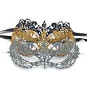 hesapli Lolita Perukları-Kadın's Şık Ağız maskesi - Dantel, Nakışlı Kelebek
