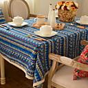 ieftine Tăblițe masă-Clasic Bumbac Pătrat Fețe de masă Dungi Decoratiuni de tabla 1 pcs