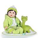 preiswerte Puppen-NPKCOLLECTION Lebensechte Puppe Baby Jungen 24 Zoll lebensecht Blinken Kinder Jungen / Mädchen Spielzeuge Geschenk