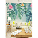 cheap Prints-Wallpaper / Mural Canvas Wall Covering - Adhesive required Floral / Botanical / 3D