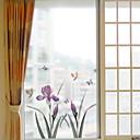 billiga Väggklistermärken-Fönsterfilm och klistermärken Dekoration Vanlig Blomma pvc Fönsterklistermärke
