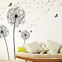 abordables Stickers Muraux-Autocollants muraux décoratifs - Autocollants avion A fleurs / Botanique Chambre à coucher