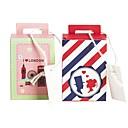 ieftine Jartiere de Nuntă-În Formă de Cub Hârtie Carton Favor Holder cu Pană / Blană Cutii de Cadouri - 25pcs