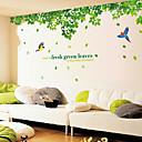 abordables Stickers Muraux-Autocollants muraux décoratifs - Autocollants muraux animaux A fleurs / Botanique Salle de séjour / Chambre à coucher / Salle de bain