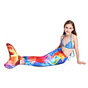 cheap Diving Masks, Snorkels & Fins-Girls' Swimsuit Bottoms Mermaid, Quick Dry, Comfortable Polyester Swimwear Beach Wear Bottoms Swimming / Watersports / High Elasticity