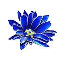 رخيصةأون حلقات الأذن-للمرأة ستايل دبابيس - وردة أنيق, كلاسيكي بروش أزرق من أجل يوميا