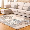 זול שטיחים-שטח שטיחים צורות גיאומטריות / מסורתי polyster, מלבני איכות מעולה שָׁטִיחַ