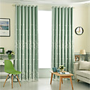 halpa Ikkunoiden verhot-Kantri Pimennysvuoritus Drapes 2 paneeli Curtain & Sheer / Kirjailu / Living Room