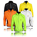 cheap Car Exterior Lights-WOLFBIKE Men's Cycling Jacket Bike Windbreaker / Top Windproof, Quick Dry, Ultraviolet Resistant Classic Polyester Orange / Yellow / Green Bike Wear