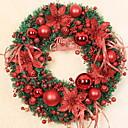 olcso Karácsonyi dekoráció-Girlandok / Karácsonyi díszek Ünneő Műanyag Kör fa / Újdonságok Karácsonyi dekoráció