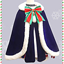 abordables Disfraces de Anime-Inspirado por Fate / zero Saber Animé Disfraces de cosplay Trajes Cosplay Lazo Falda / Guantes / Calentador (prenda) Para Mujer