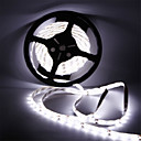 cheap LED Strip Lights-5m Flexible LED Light Strips 300 LEDs SMD5630 Warm White / Cold White Waterproof / Cuttable / Linkable 12 V 1pc / Self-adhesive
