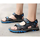 abordables Sandalias de Hombre-Hombre Zapatos Confort Cuero Verano Sandalias Naranja / Gris / Azul