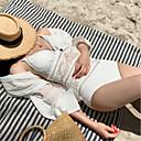 olcso Úszóruhák, búvároveráll és neoprén ruhák-Női Fürdőruha Gyors szárítás, Lélegzési képesség Poliészter / Spandex Ujjatlan Fürdőruha Strandruházat Testhezálló Egyszínű Úszás / Szörfözés