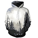 cheap Light Switches-Men's Basic Hoodie - 3D, Print