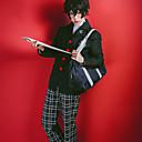 economico Parrucche cosplay anime-Ispirato da Serie Persona Joker / Amamiya Ren Anime Costumi Cosplay Abiti Cosplay A quadri Manica lunga Cappotto / Top / Pantaloni Per Ragazzi e ragazze