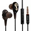 tanie Pielęgnacja włosów-Factory OEM LXM20 W uchu Kabel Słuchawki Słuchawka ABS + PC Telefon komórkowy Słuchawka z mikrofonem / Z kontrolą głośności Zestaw słuchawkowy