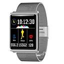 Χαμηλού Κόστους Smart Wristbands-KING-WEAR® N98 Άντρες Έξυπνο βραχιόλι Android iOS Bluetooth Αθλητικά Αδιάβροχη Συσκευή Παρακολούθησης Καρδιακού Παλμού Μέτρησης Πίεσης Αίματος Οθόνη Αφής / Παρακολούθηση Δραστηριότητας / Ξυπνητήρι
