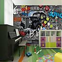 رخيصةأون معلقات الجدران-ورق الجدران / جدارية كنفا تغليف الجدران - لاصق المطلوبة الفني / تصميم / 3D