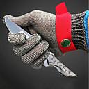 tanie Przedmioty dekoracyjne-1 szt. Stal nierdzewna Rękawice ochronne Bezpieczeństwo i wyposażenie ochronne Odporność na zurzycie