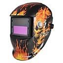 preiswerte Sicherheit-1pc PP ABS Schweißmaske Schweißen / Automatische Verdunkelung / Sicherheit Vollgesichtsmaske