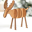 cheap Christmas Decorations-Christmas Holiday Wooden Party Christmas Decoration