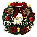 preiswerte Feiertags Party Dekoration-Girlanden / Weihnachtsschmuck Urlaub PVC Kreisförmig Party / Neuartige Weihnachtsdekoration