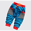 ieftine Pantaloni Băieți-Bebelus Băieți Activ Plisat / Peteci Bumbac Pantaloni / Copil