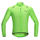 cheap Cycling Jerseys-SANTIC Men's Women's Unisex Cycling Jacket Bike Jacket Ultraviolet Resistant Jacket Raincoat Waterproof Windproof Quick Dry Sports Solid Color Lycra Green Mountain Bike MTB Road Bike Cycling Clothing