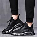 preiswerte Kleideruhr-Herrn Laufschuhe / Sneaker Gummi / PU (Polyurethane) Übung & Fitness / Walking / Jogging Unverformbar, tragbar, Atmungsaktivität Atmungsaktive Mesh Schwarz