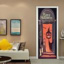 ieftine Acțibilde de Perete-Autocolante de Perete Decorative - Autocolante perete plane Halloween Sufragerie