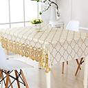 tanie Obrusy-Nowoczesny Polichlorek winylu Kwadrat Obrus Geometric Shape Dekoracje stołowe 1 pcs