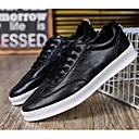 baratos Sapatos Náuticos Masculinos-Homens Sapatos Confortáveis Couro Ecológico Primavera & Outono Tênis Branco / Preto / Vermelho