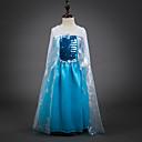 preiswerte Hochzeit Schals-Kinder / Baby Mädchen Solide Langarm Kleid