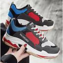 baratos Botas Femininas-Mulheres Sapatos Confortáveis Com Transparência Primavera Tênis Corrida Salto Baixo Branco / Preto / Cinzento